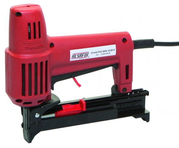 Electric stapler/nailer combos