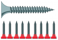 Strip screws 3,9x45 phosph.PH2