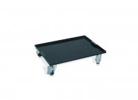 Metal transport tray