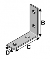 Chair Bracket 25x25x15