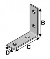 Chair Bracket 60x60x20