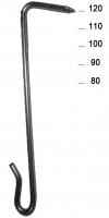 Hooks 2,7 x 80 mm INOX 17%