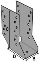 Cantilever Joist Hanger 80x210